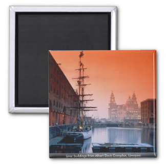 Liver buildings from Albert Dock Complex, Liverpoo Square Magnet