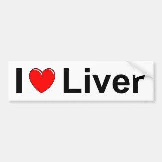 Liver Bumper Sticker