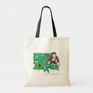 Liver Cancer Fighter - Fight Like a Girl Budget Tote Bag