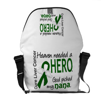 Liver Cancer Heaven Needed a Hero Nana Courier Bag