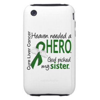 Liver Cancer Heaven Needed a Hero Sister Tough iPhone 3 Cases