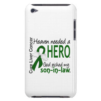 Liver Cancer Heaven Needed a Hero Son-In-Law Barely There iPod Covers