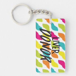 Liver Donor Keychain