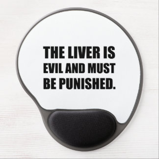 Liver Evil Must Be Punished Gel Mouse Pad