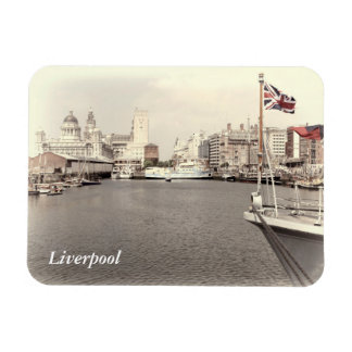 Liverpool by the docks magnet