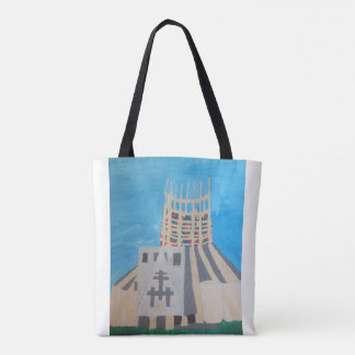 Liverpool cathedral trendy tote bag