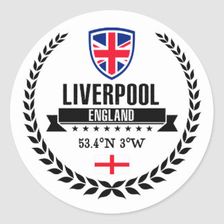 Liverpool Classic Round Sticker