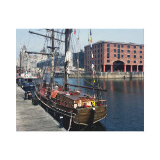 Liverpool Docklands Canvas Print
