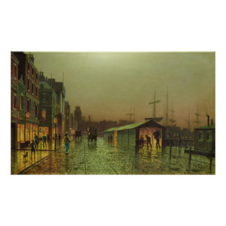 Liverpool Docks Poster