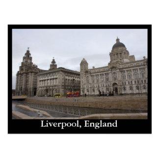 Liverpool, England Postcard