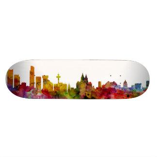 Liverpool England Skyline Skate Boards
