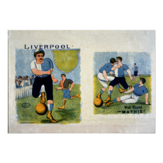 Liverpool FC, 1894 Poster