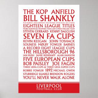 Liverpool FC Successes print