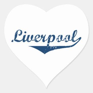 Liverpool Heart Sticker