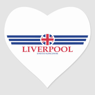 Liverpool Heart Sticker