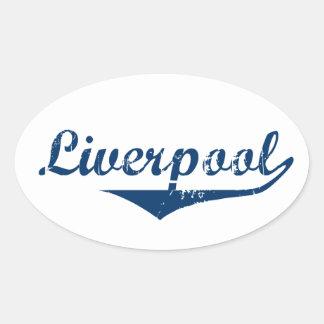 Liverpool Oval Sticker
