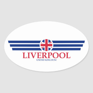 Liverpool Oval Sticker