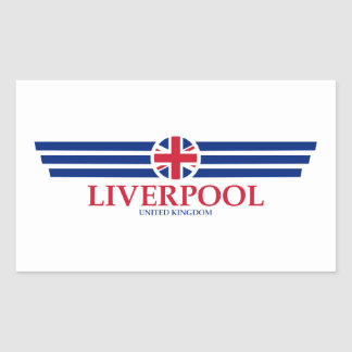 Liverpool Rectangular Sticker