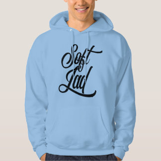 Liverpool Scouse Dialect Soft Lad Hooded Top