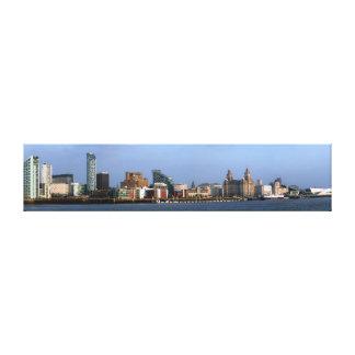 Liverpool Skyline Canvas Print