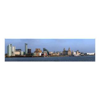 Liverpool Skyline Photo Print