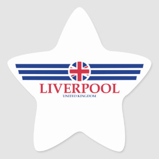 Liverpool Star Sticker