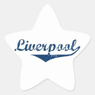 Liverpool Star Sticker
