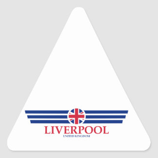 Liverpool Triangle Sticker