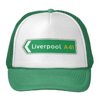 Liverpool, UK Road Sign Cap