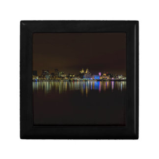 Liverpool Waterfront Small Square Gift Box