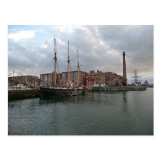 Liverpool's Albert Dock Postcard