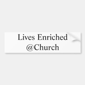 Lives Enriched @Church sticker