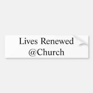 Lives Renewed @Church sticker