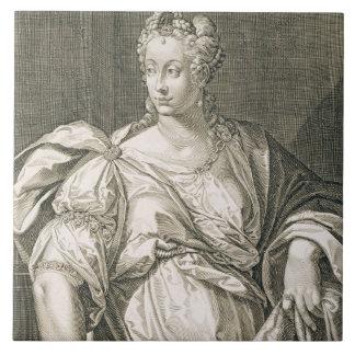 Livia Drusilla (c.55 BC - AD 29) wife of Octavian Large Square Tile
