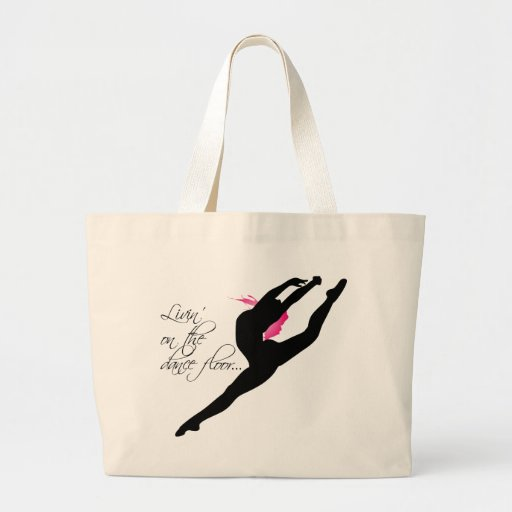 Livin on the Dance Floor Pink Dancer Bag
