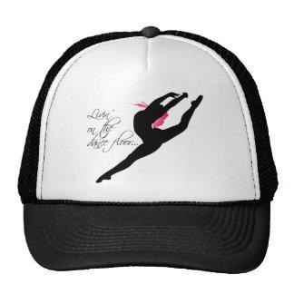 Livin on the Dance Floor Pink Dancer Trucker Hat