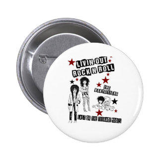 LIVIN OUT ROCK N ROLL FILM PREMIERE MERCHANDISE PINS