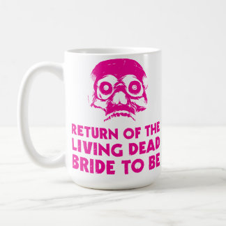 Living Dead Bride To Be Coffee tea Cup Hen Party