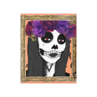 Living Dead Girl Canvas Print