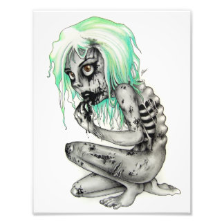 Living Dead Girl Photo Print