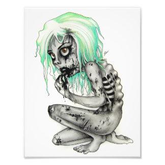 Living Dead Girl Photographic Print