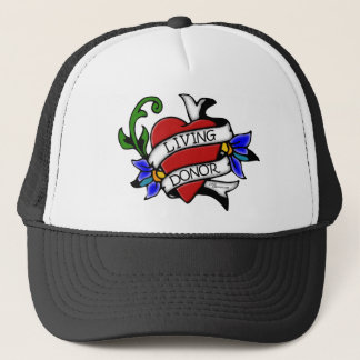 Living Donor Tattoo-inspired Hat