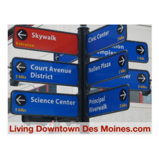 Living Downtown Des Moines Post Cards