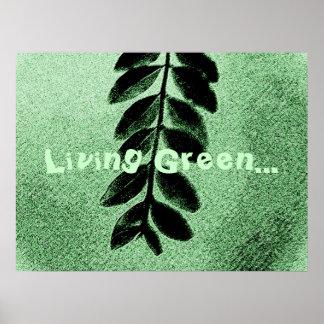 Living Green Poster