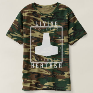 Living Heathen Camouflage T-Shirt