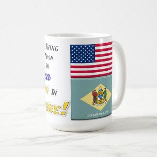 Living In Delaware! 15 oz Classic Mug