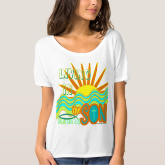 Living In The Son Retro 70's Art Christian Shirts
