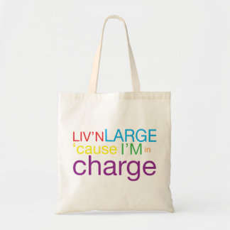 Living Large Tote Bags