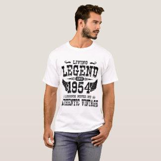 LIVING LEGEND SINCE 1954 LEGENDS NEVER DIE T-Shirt