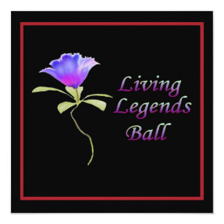 Living Legends Ball Invitation
